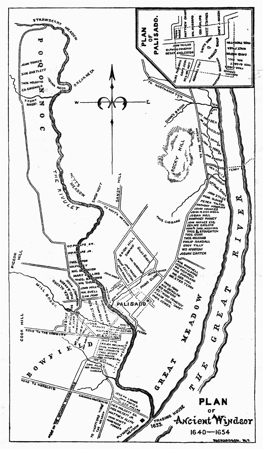 Windsor On Canada Map File Map Windsor Connecticut 1654 Jpg Wikimedia Commons