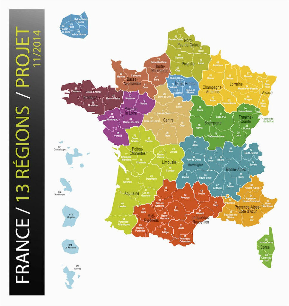 World Heritage Sites France Map New Map Of France Reduces Regions to 13