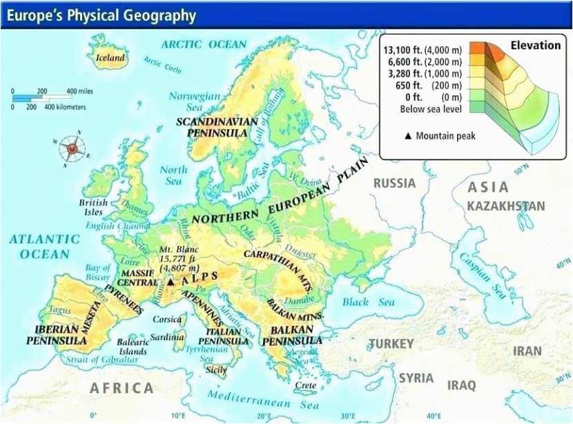 Apennines Mountains Europe Map Physical Map Europe Climatejourney org