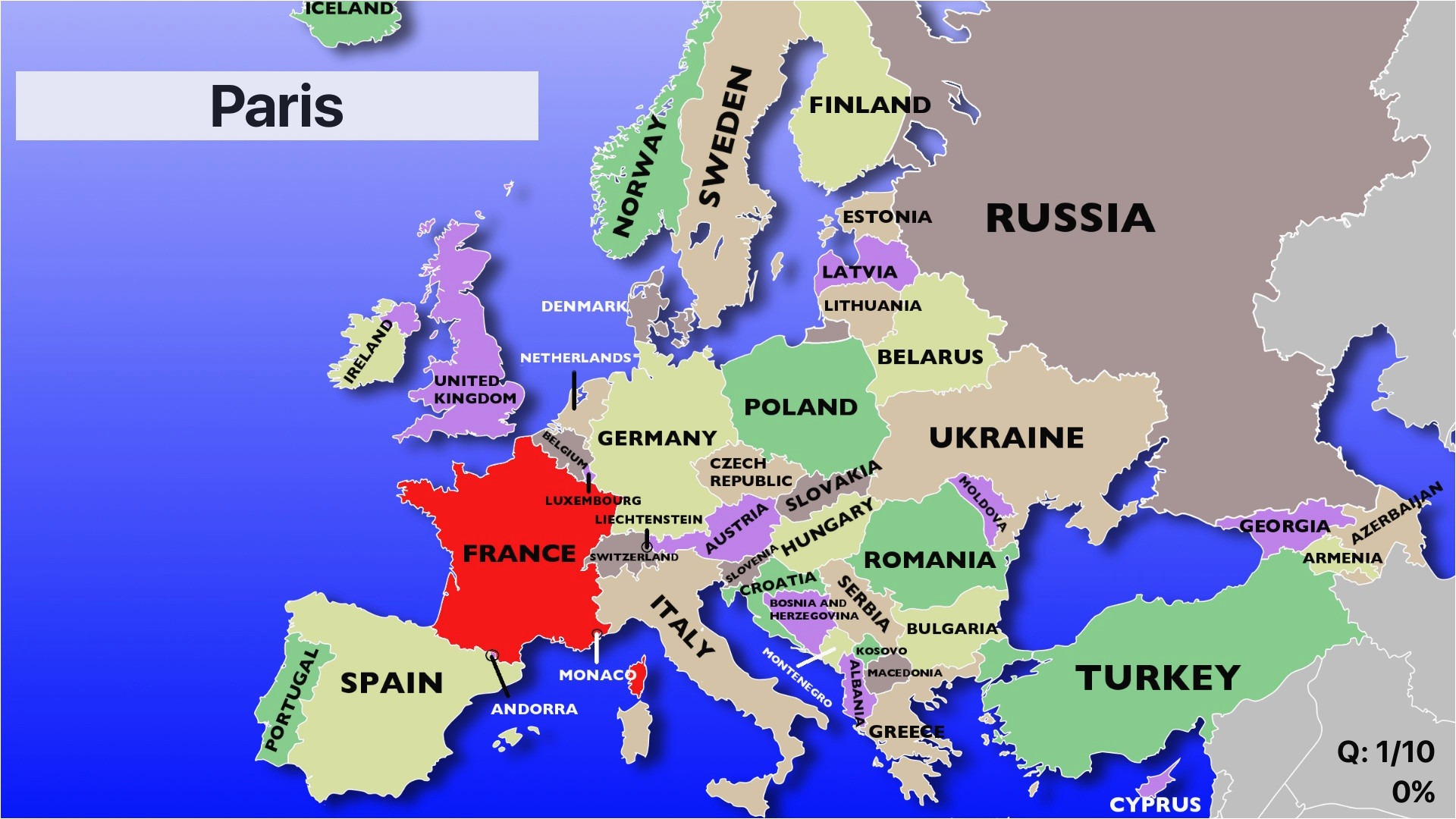 Eastern Europe Map Games 25 Categorical Map Of Eastern Europe and Capitals