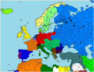 Europe Map 1946 Maps for Mappers Historical Maps thefutureofeuropes Wiki