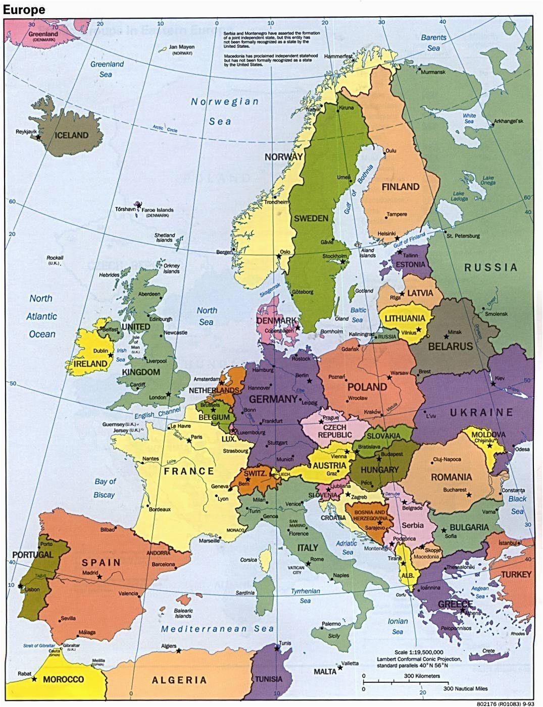 Europe Map In Chinese Europa Karte Fotos Lernen Europe Reisen Kontinente Und
