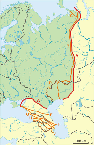 Europe Map Ural Mountains Datei Possible Definitions Of the Boundary Between Europe