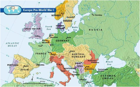 Europe Pre Ww1 Map Europe Pre World War I Bloodline Of Kings World War I