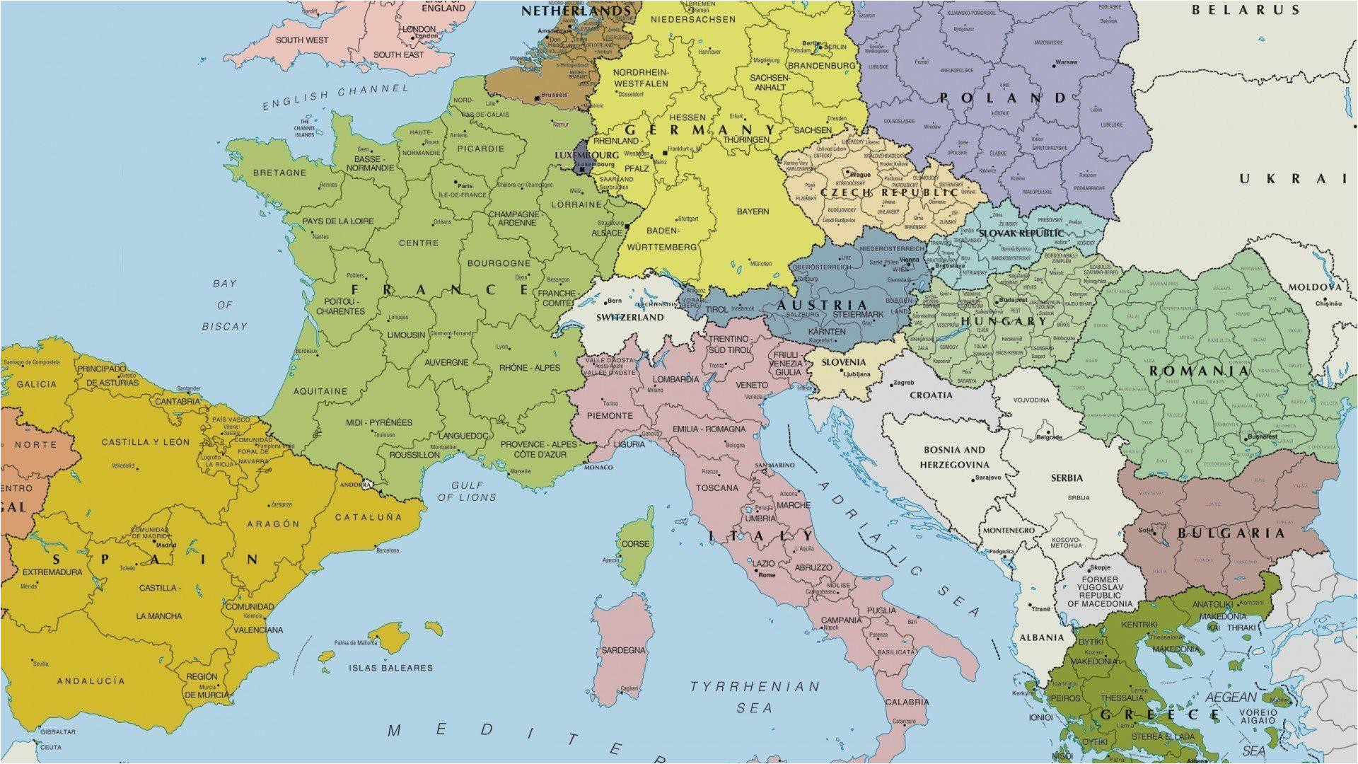Islands Of Europe Map Map Of Europe Wallpaper 56 Images