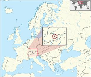 Liechtenstein Map Of Europe Liechtenstein Wikipedia