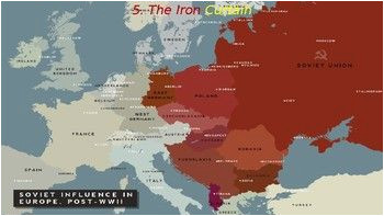 Map Of Cold War Europe Cold War 2 the 1940s Iron Curtain Truman Marshall Plan