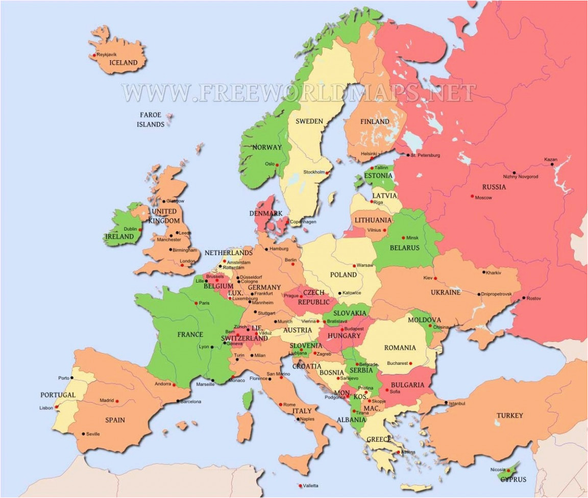 Map Of Europe after Ww1 Europe Map after Ww1 Climatejourney org