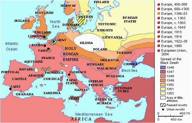 Map Of Europe During Renaissance Map 624a 400 Medieval and Renaissance Map Denmark Europe