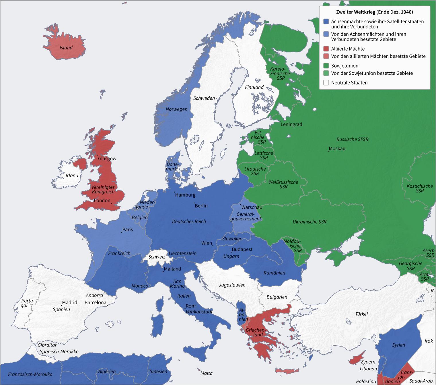 Map Of Europe In 1942 Datei Second World War Europe 12 1940 De Png Wikipedia