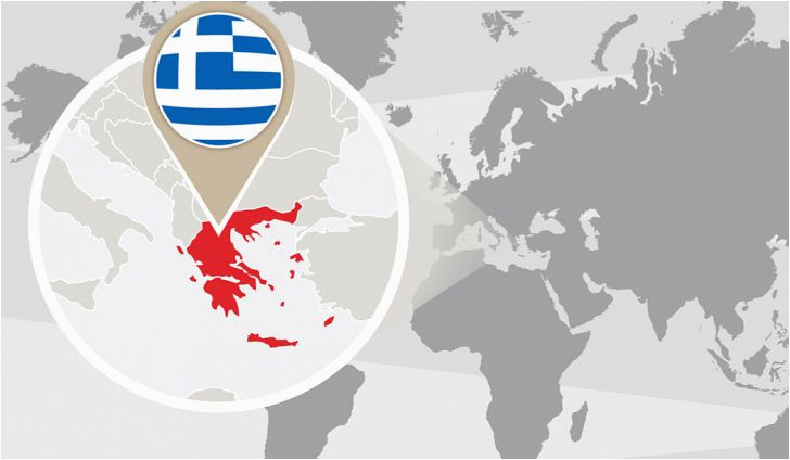 Map Of Europe with Greece What Continent is Greece In Worldatlas Com