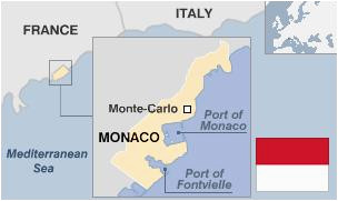 Monte Carlo Europe Map Monaco Country Profile Bbc News