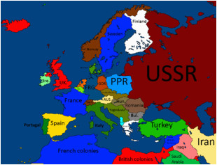 Post War Europe Map Maps for Mappers Historical Maps thefutureofeuropes Wiki