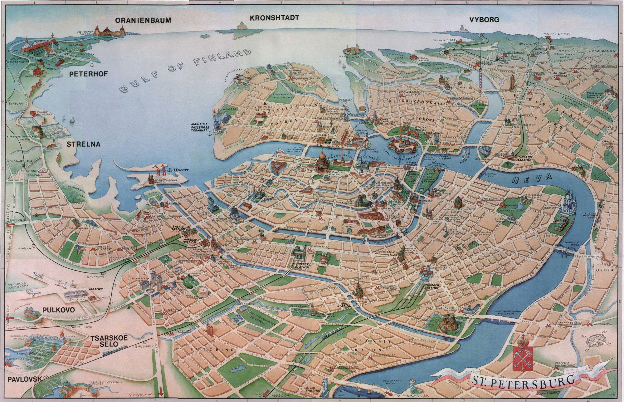 St Petersburg Map Europe Pin by Jairo Lopes On Mapas Urlaub In Europa Reiseziele