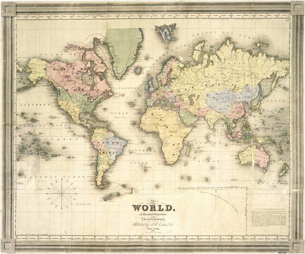 Vintage Maps Of Europe Remodelaholic 20 More Free Printable Vintage Map Images