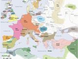14th Century Middle Ages Europe Map Pin On Maps