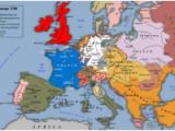 18th Century Map Of Europe 18th Century Wikipedia