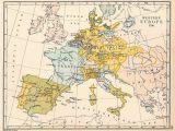 18th Century Map Of Europe atlas Of European History Wikimedia Commons