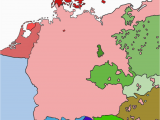 1910 Map Of Europe Linguistic Map Of Central Europe 1910 without Borders