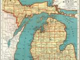 45th Parallel Michigan Map 10 Best Map Of Michigan Images Map Of Michigan Great Lakes State