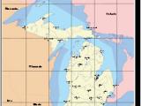 45th Parallel Michigan Map Michigan Revolvy