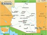 A Map Of Arizona Cities Map Of Arizona Cities Maps
