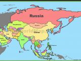 A Map Of Europe and asia Russia China India Maps asia Map World Map with