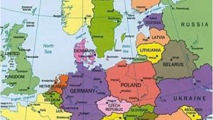 A Map Of Europe with Countries Map Of Europe Countries January 2013 Map Of Europe