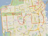 A Map Of Los Angeles California California Coast Road Trip Map Free Printable Map Od California 49