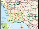 A Map Of Los Angeles California La Map where Magazine Los Angeles Map