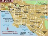A Map Of Los Angeles California Map Of Los Angeles