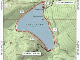 A Map Of the oregon Trail Lost Lake Loop Hike Hiking In Portland oregon and Washington