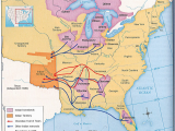 A Map Of the oregon Trail Trail Of Tears Map History Post Industrial Revolution Up to Wwi