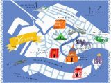 A Map Of Venice Italy Diy Home Projects Maps Venice Map Venice Life Map
