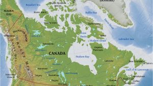 A Physical Map Of Canada Canada Physical Map Game Political Map Berkshireregion