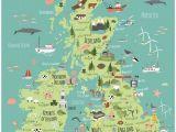 A4 Map Of England British isles Map Bek Cruddace Maps Map British isles Travel