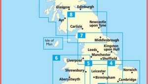 Aa Map Of England Aa Route Map Maps Directions