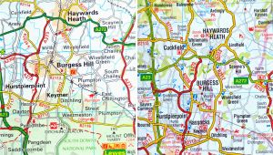 Aa Road Map Of England Do You Really Need A Book Of Uk Maps