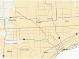 Adrian Michigan Map Michigan Highways Map Secretmuseum