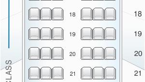 Air Canada Rouge Map Seat Map Air Canada Airbus A319 100 Seatmaestro