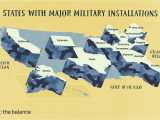 Air force Bases In England Map Major U S Military Bases and Installations