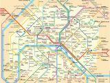 Airports In Paris France Map Plan Der Pariser Metro Paris Metroplan Metronetz Map