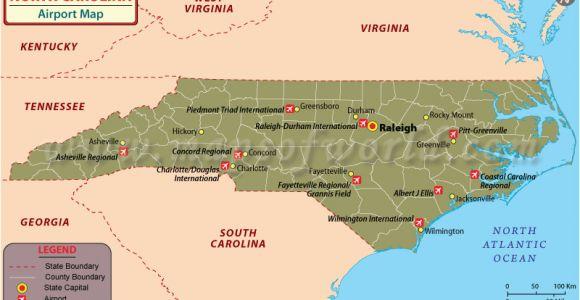 Airports north Carolina Map Map Of Airports In Usa and Canada International Airports Map Us Us
