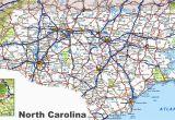 Airports north Carolina Map north Carolina Road Map