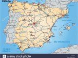 Albacete Spain Map Map Od Spain Stockfotos Map Od Spain Bilder Alamy