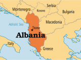Albania Map In Europe Albania Albania En Geography social Studies