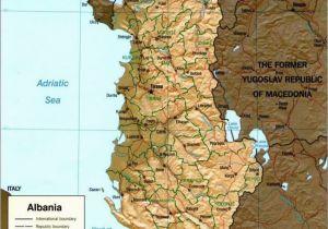 Albania Map In Europe Map Of Albania Albania Albania Albania Travel Visit