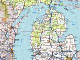 Albion Michigan Map Download Map In Road Unique Map Of Michigan Showing Cities