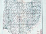 Allen County Ohio Map Ohio Historical topographic Maps Perry Castaa Eda Map Collection
