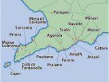 Amalfi Coast Map Of Italy Amalfi Coast Map Amalfi Villas Amalfi Coast Holiday Apartments